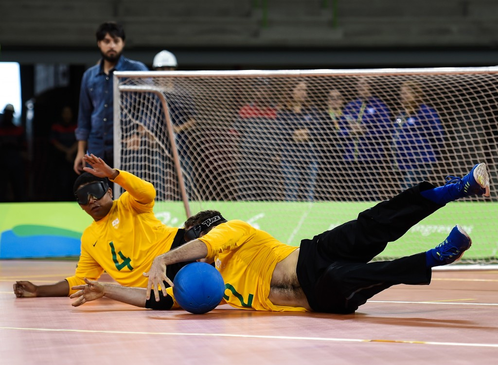 Brazil will look to defend their men's goalball title ©Getty Images