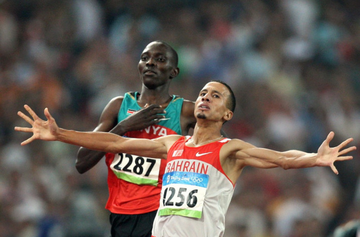 It took Kenya's Asbel Kiprop (left) almost four years to get the gold he deserved from the Beijing 2008 Olympic 1500m final after the winner Rashid Ramzi of Bahrain was found to have used a banned blood-boosting substance ©Getty Images