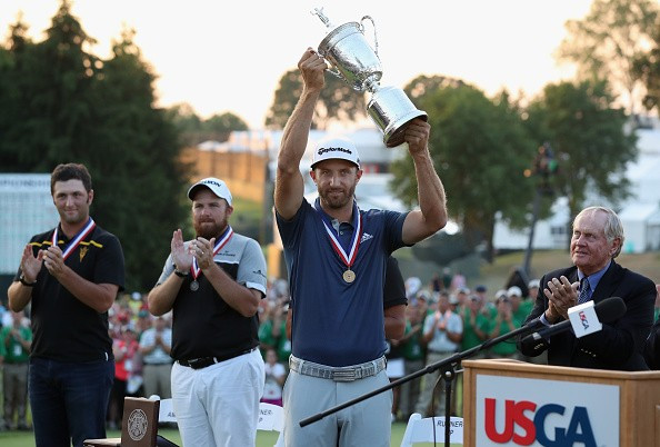 Johnson secures maiden major title despite final-round controversy at U.S. Open