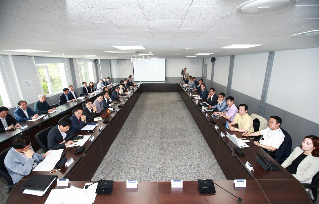 Pyeongchang 2018 have held their first Executive Committee meeting in their new building in the host city today