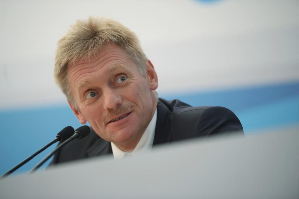 "Russian Presidential spokesman Dmitry Peskov has warned against a ""precedent"" being set ©Getty Images"