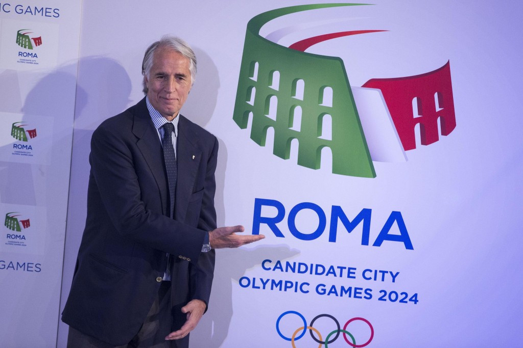 Giovanni Malago has met with IOC President Thomas Bach in Rome ©Getty Images