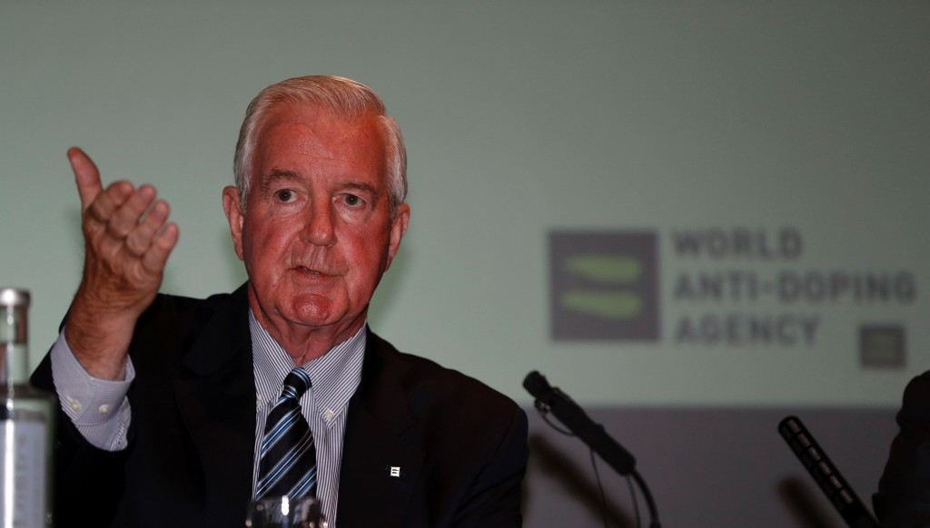 WADA President Sir Craig Reedie has backed an IAAF proposal to allow Russian athletes to compete under a neutral flag at Rio 2016 ©Getty Images