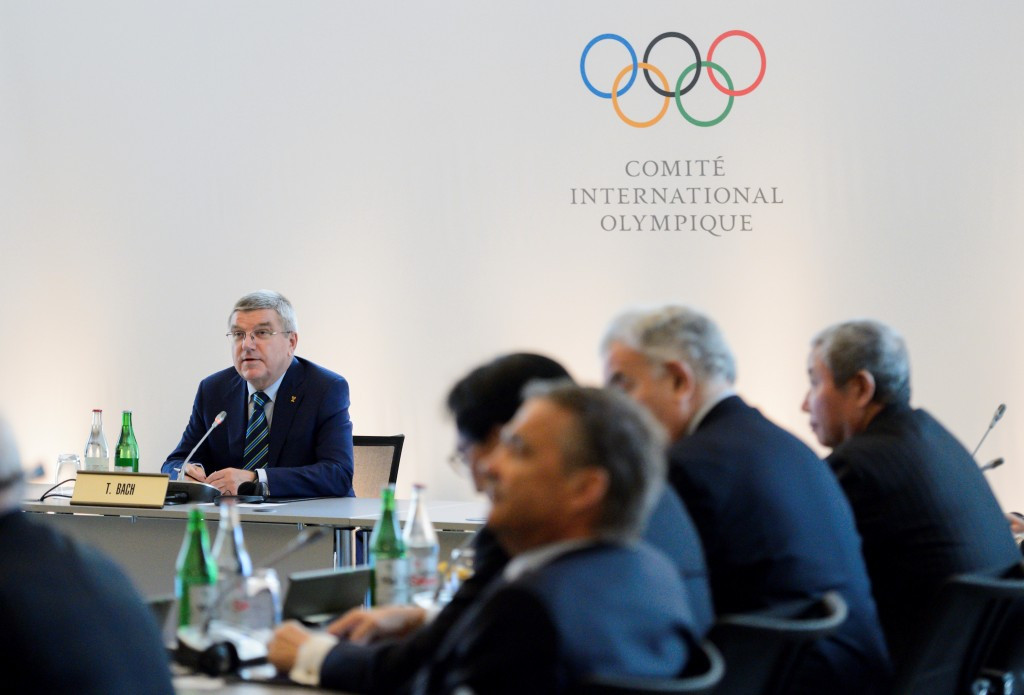 IOC President Thomas Bach has claimed that any Russian athletes who compete at Rio 2016 must do so under that country's flag and not as neutrals because the rules do not allow it ©Getty Images
