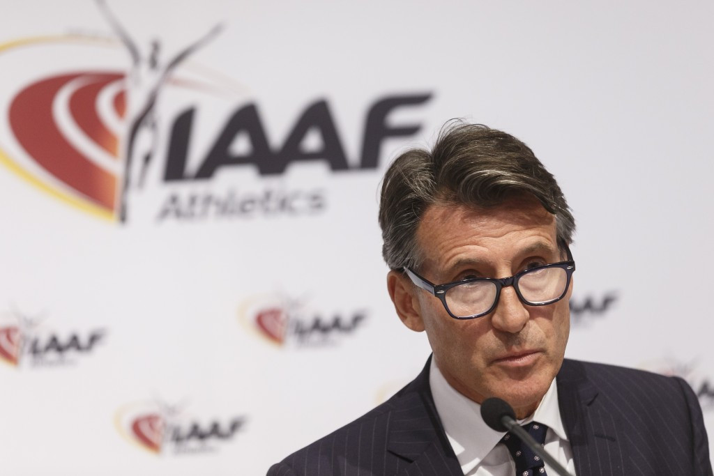 IAAF President Sebastian Coe has defended their new regulation on hyperandrogenism, which could see two-time Olympic champion caster Semenya banned from competition ©Getty Images