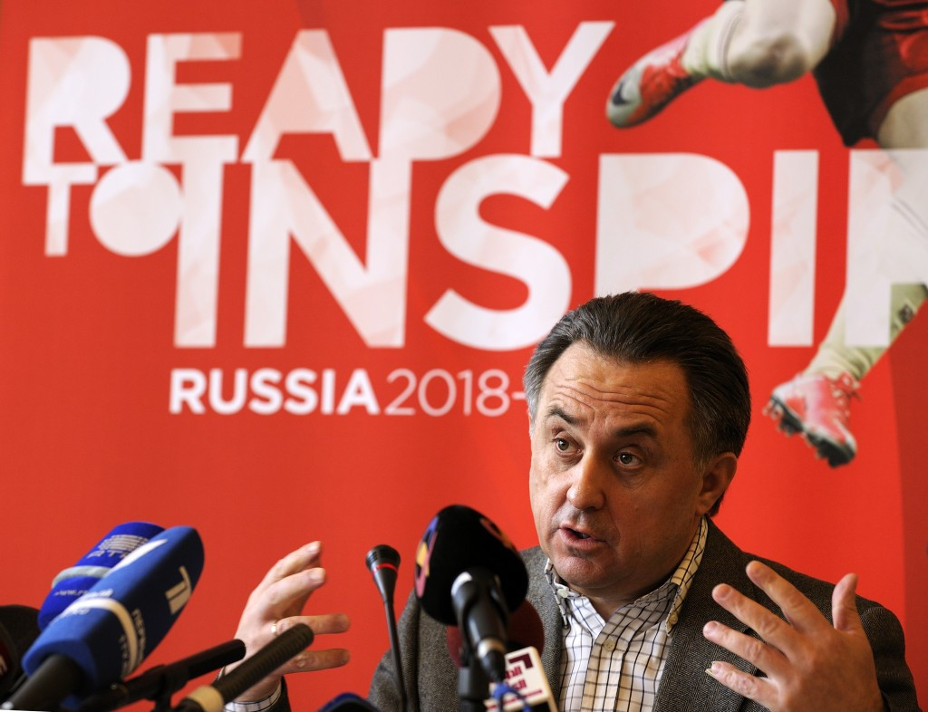 Russian Sports Minister Vitaly Mutko was a key figure in his country securing the hosting rights to the 2018 FIFA World Cup ©Getty Images