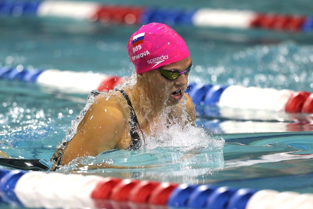 Yuliya Efimova is one doping tainted swimmer after being implicated in a second failed drug test of her career this year ©Getty Images