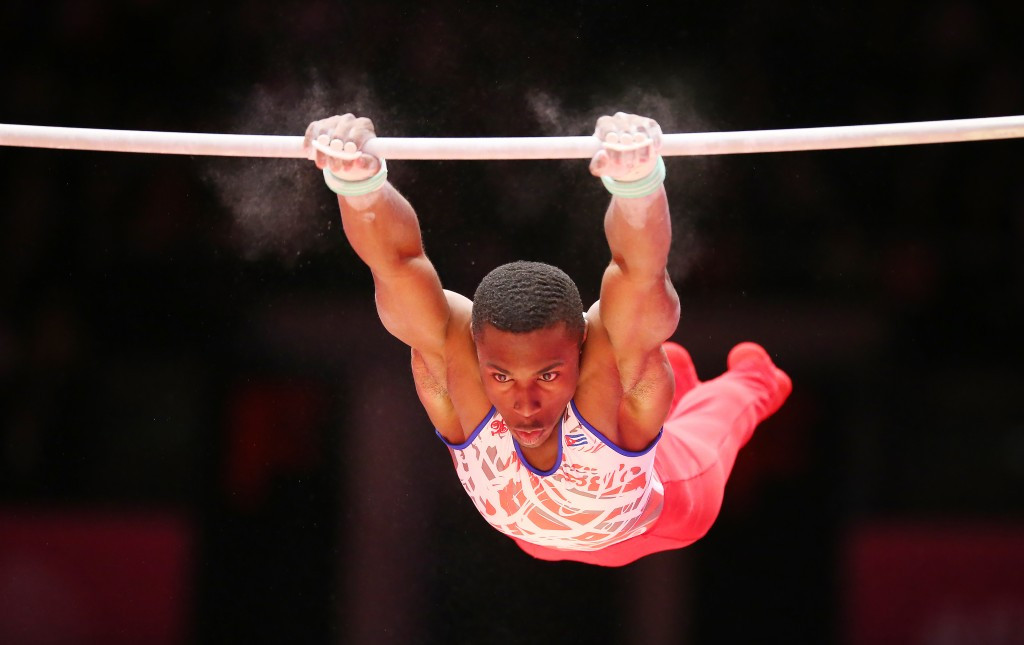 Larduet and Saraiva clinch two gold medals at FIG Artistic Gymnastics World Challenge Cup