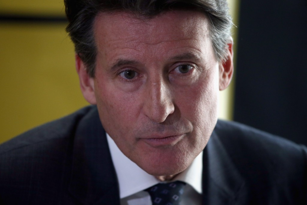 Sebastian Coe unveiled his 100 Day Plan for athletics today in Oslo ©Getty Images