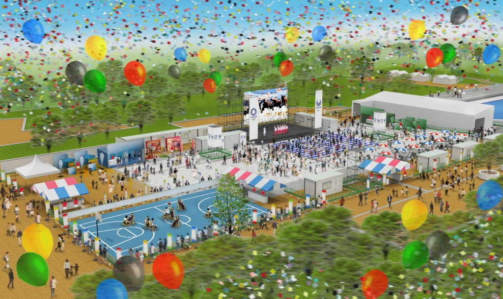 Tokyo 2020 have launched their live sites programme ahead of the Rio 2016 Olympic Games ©Tokyo Metropolitan Government