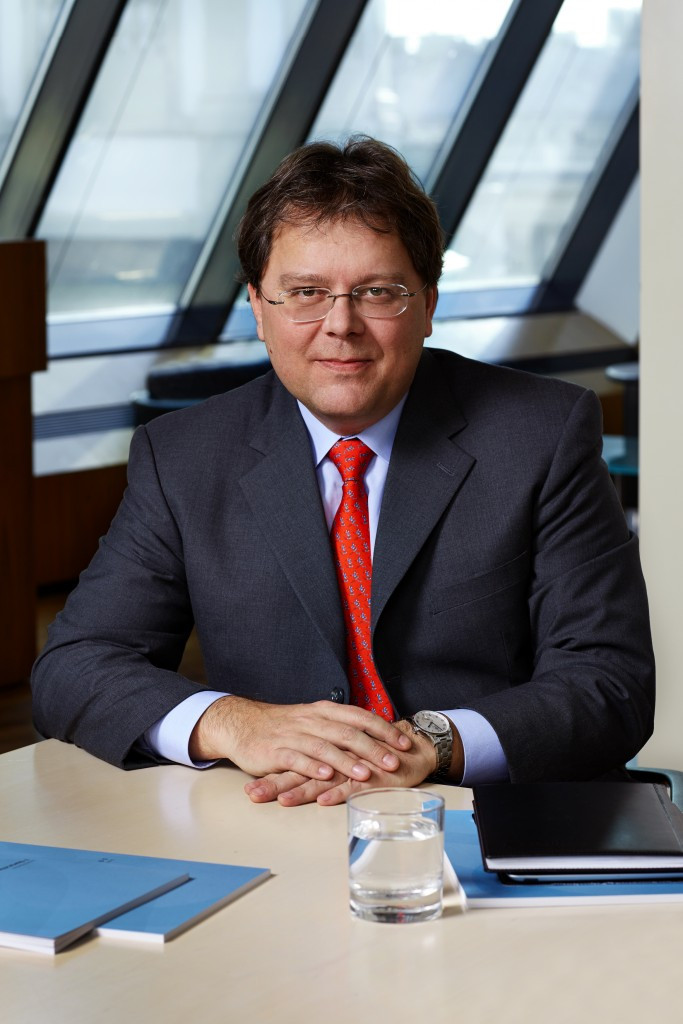 Gernot Mittendorfer is the chief financial officer of the Erste Group Bank AG ©Erste Group Bank AG