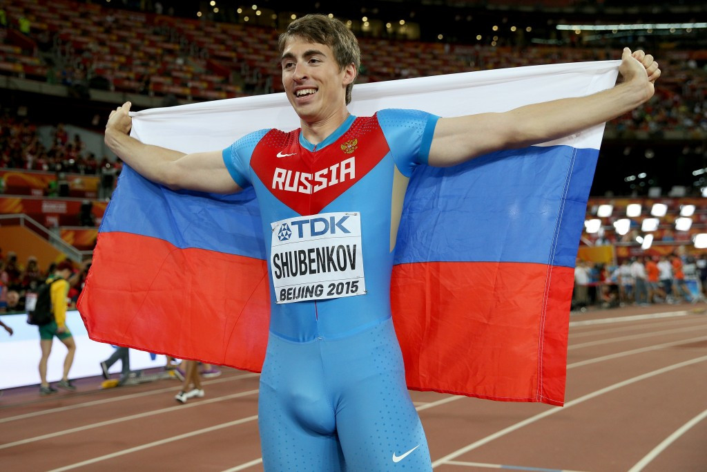 World 110m hurdles champion Sergey Shubenkov is believe to be among the Russians to have applied to the IAAF to be allowed to compete as a neutral athlete at Rio 2016 ©Getty Images