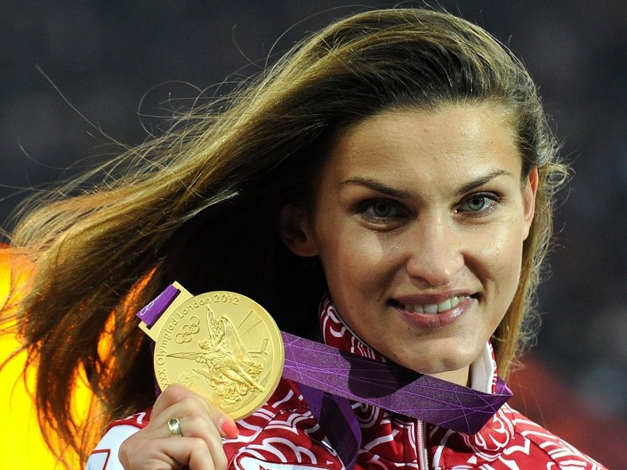 Anna Chicherova has been suspended by the IAAF after a re-test of her doping sample from Beijing 2008 proved positive ©Getty Images