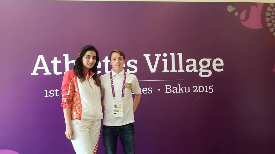 I spoke to Konul Nurullayeva at the Baku 2015 Athletes' Village today