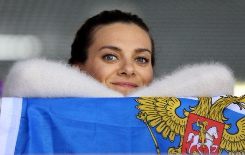 Pole vaulter Yelena Isinbayeva is one Russian athlete pinning their hopes on the appeal to CAS ©Getty Images
