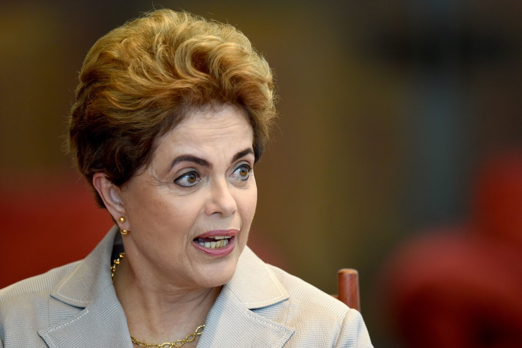Suspended Brazilian President Dilma Rousseff has been invited to the Opening Ceremony of the Rio 2016 Olympic Games in a place of honour ©Getty Images