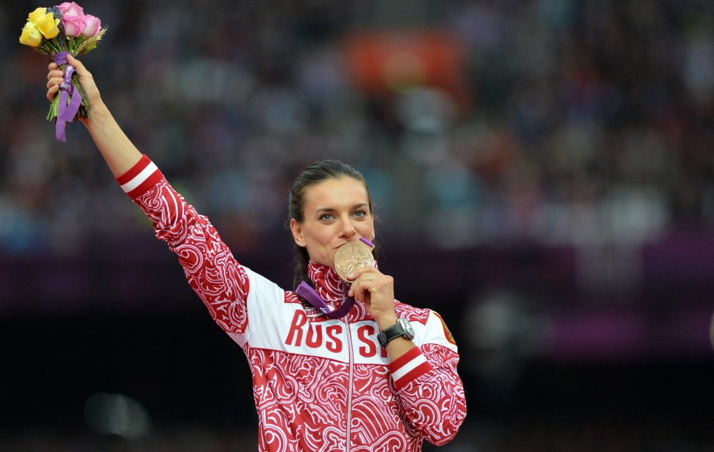 Pole vaulter Yelena Isinbayeva is confident Russia could still compete in Rio ©Getty Images
