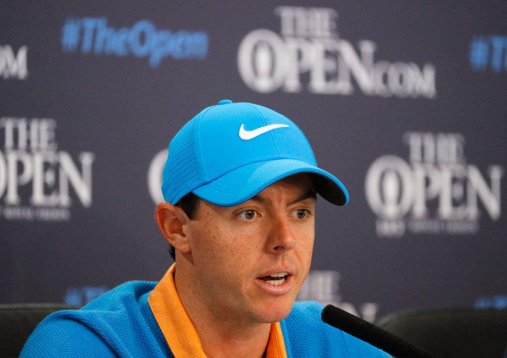 Rory McIlroy has claimed he will only watch the sports that matter at Rio 2016 ©Getty Images