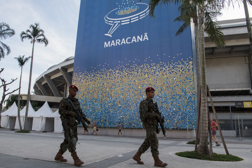 The incident raises fresh concerns over Rio 2016 security ©Getty Images