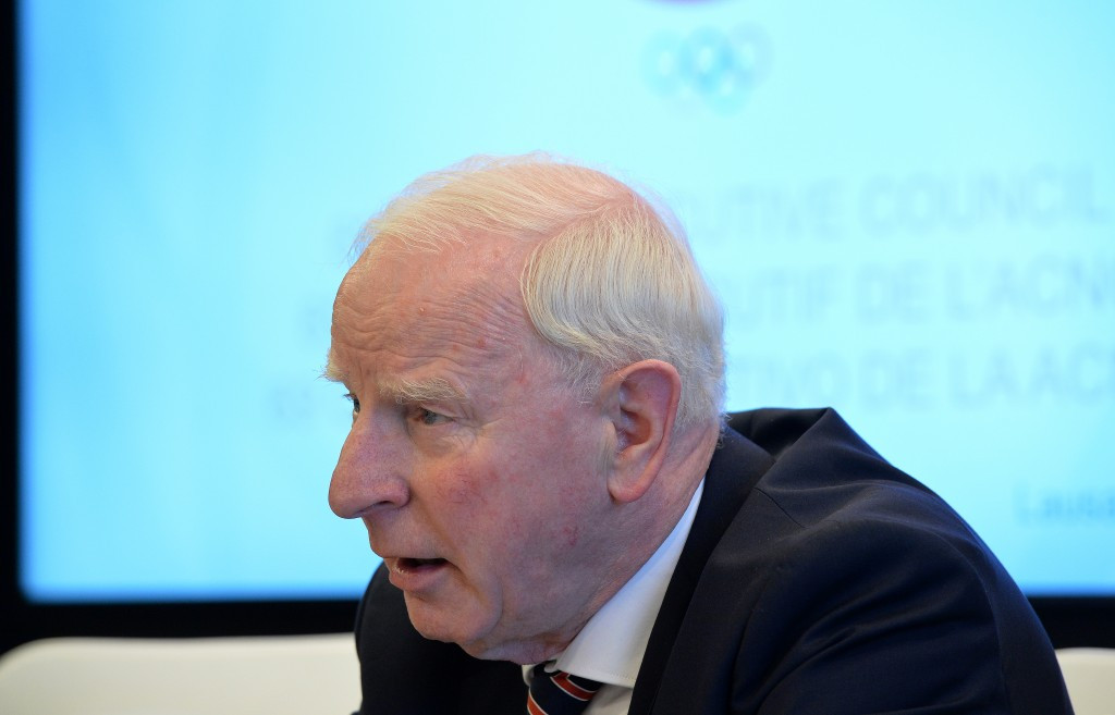 IOC Executive Board member Patrick Hickey has reportedly been arrested in Brazil ©Getty Images