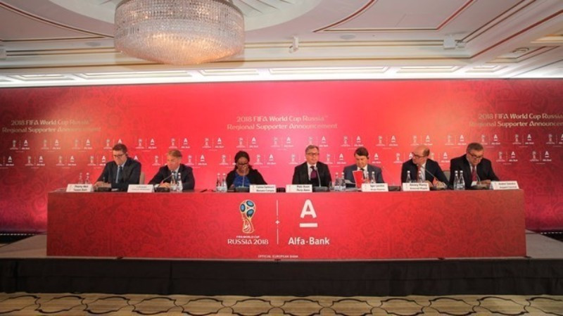 Alfa-Bank has been appointed as a regional partner of the FIFA World Cup ©FIFA