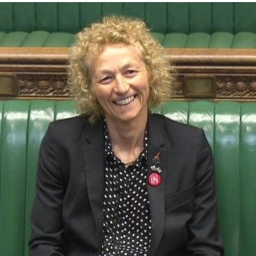 Christina Rees urged the British Government to support squash's claims to appear at future Olympic Games ©Twitter/Christina Rees MP