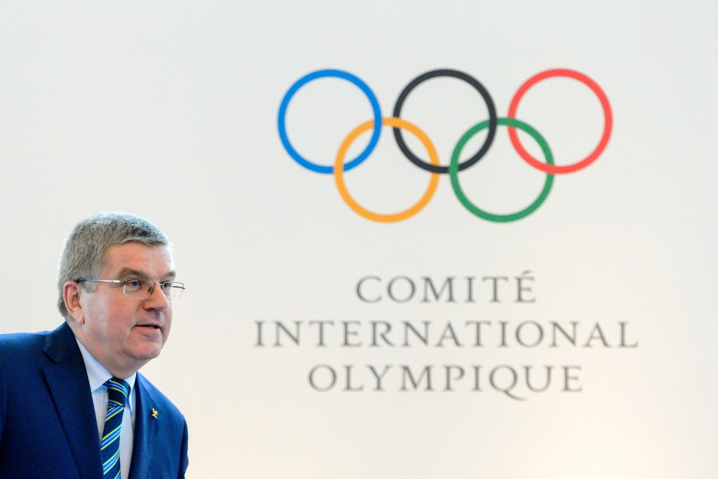 IOC President Thomas Bach has called for IOC members to come up with ideas to solve the global anti-doping system ©Getty Images