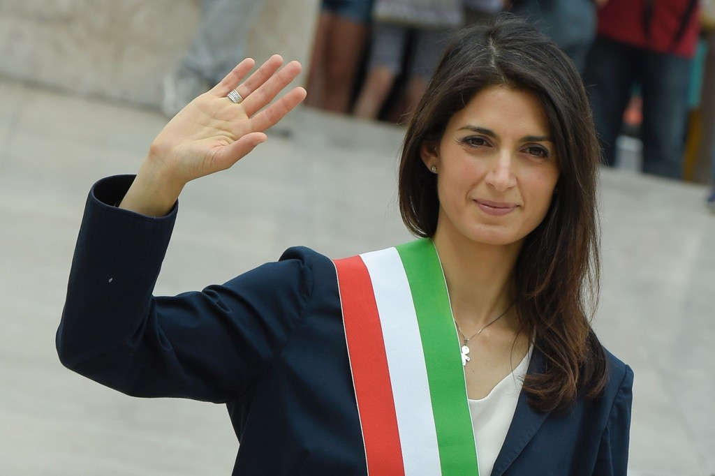 Rome Mayor Virginia Raggi wrote to the IOC to inform them of the city's withdrawal ©Getty Images