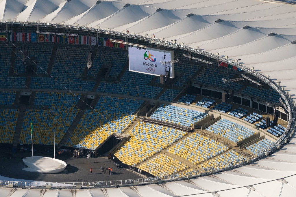 The Rio 2016 Opening Ceremony is due to take place at the Maracanã Stadium on August 5 ©Getty Images