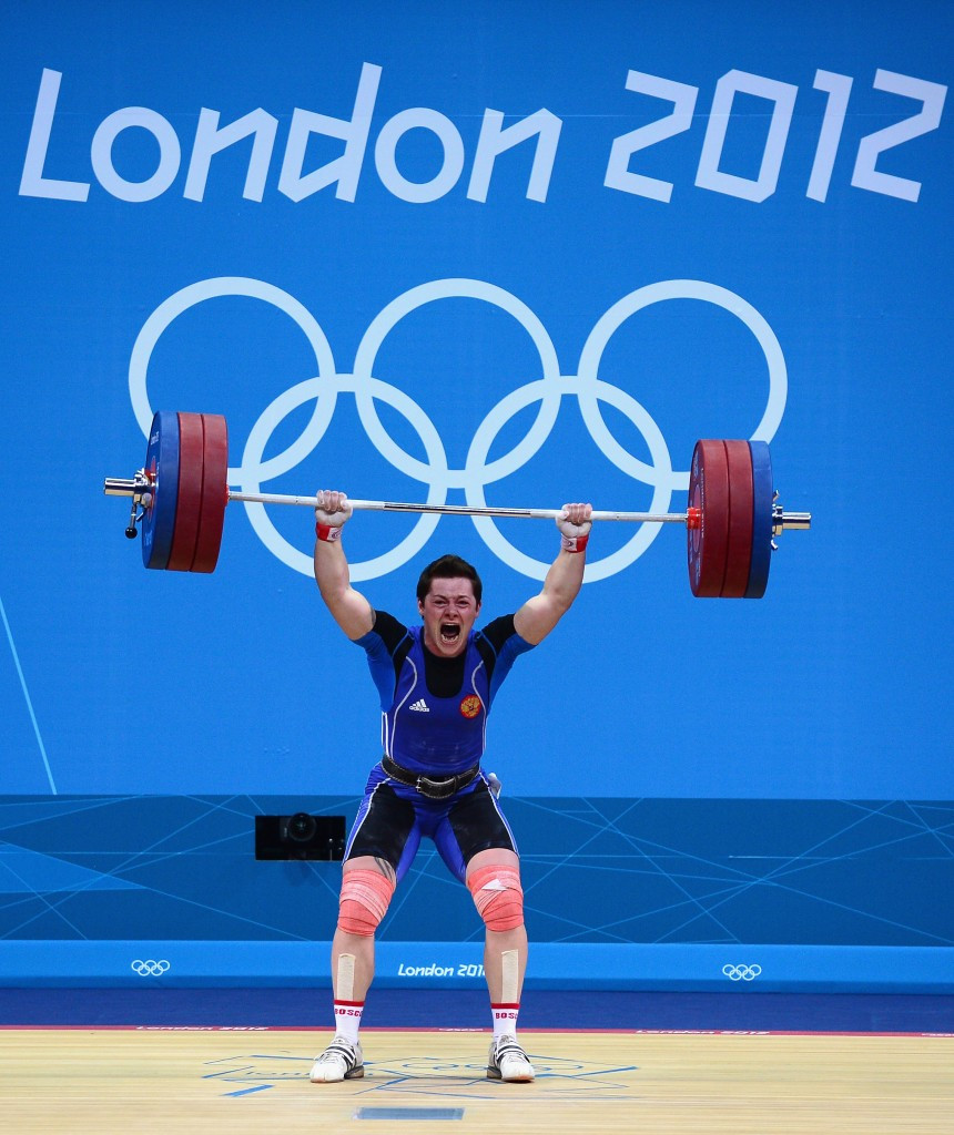 Natalia Zabolotnaya is among the weightlifters to have tested positive ©Getty Images
