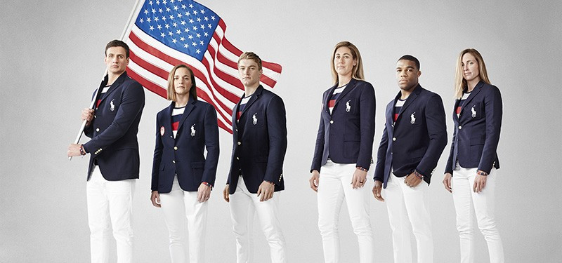 Ralph Lauren have unveiled the Opening Ceremony parade uniforms to be worn by US athletes ©USOC