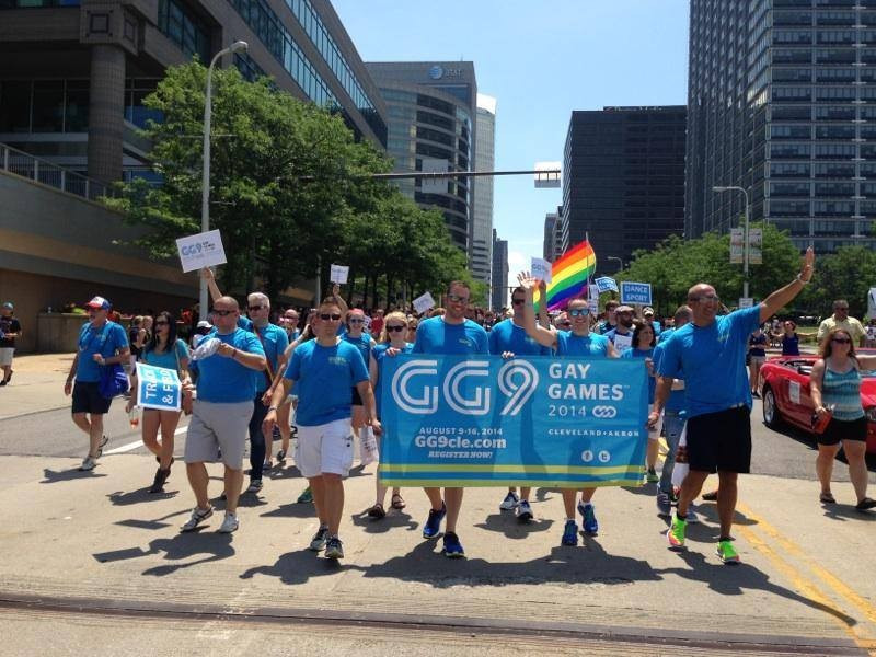 The 2014 Gay Games were held in Cleveland in the United States ©Gay Games Cleveland