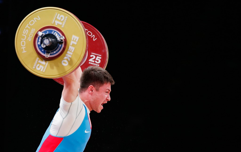 Oleg Chen is among the weightlifters who will miss Rio 2016 after the entire team was banned ©Getty Images