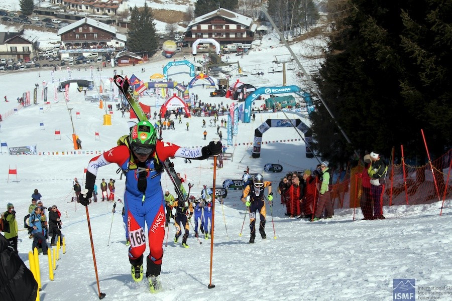 Ski mountaineering has become the third climbing discipline to be IOC recognised ©ISMF