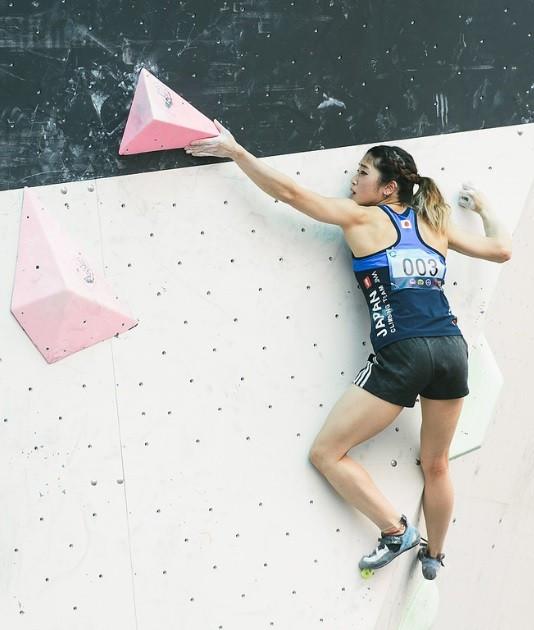 Sport climbing is enjoying rapid development in Japan ©IFSC