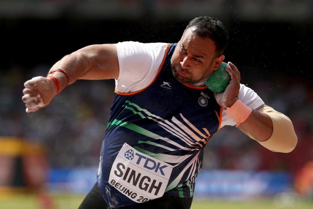 "Asian shot put champion faces Rio 2016 ban after ""B-sample tests positive"""