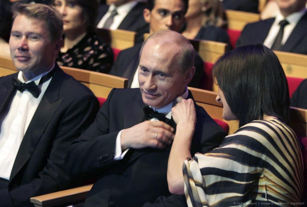 Yelena Isinbayeva has a close relationship with Russian President Vladimir Putin  ©Getty Images