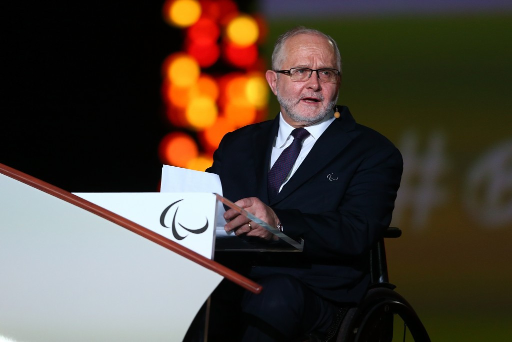 IPC President Sir Philip Craven says those competing in the IPA team will stand for courage, determination, inspiration and equality on a global stage ©Getty Images