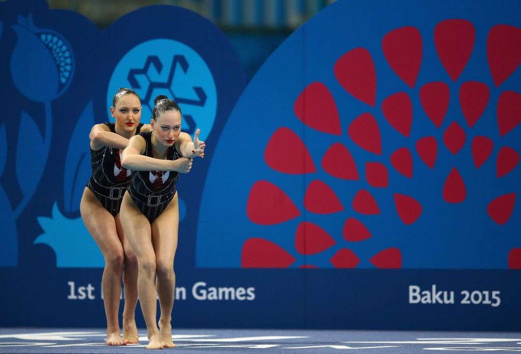 Russian pair Valeriya Filenkova and Daria Kulagina claimed the gold medal in the duets