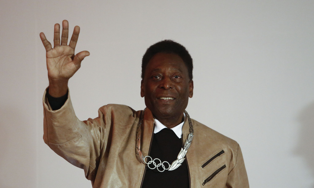 Pelé pulls out of Rio 2016 Opening Ceremony due to poor health