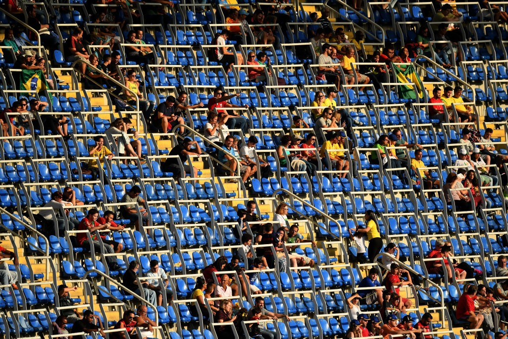 The start of Rio 2016 has been overshadowed the sight of empty seats at many venues ©Getty Images