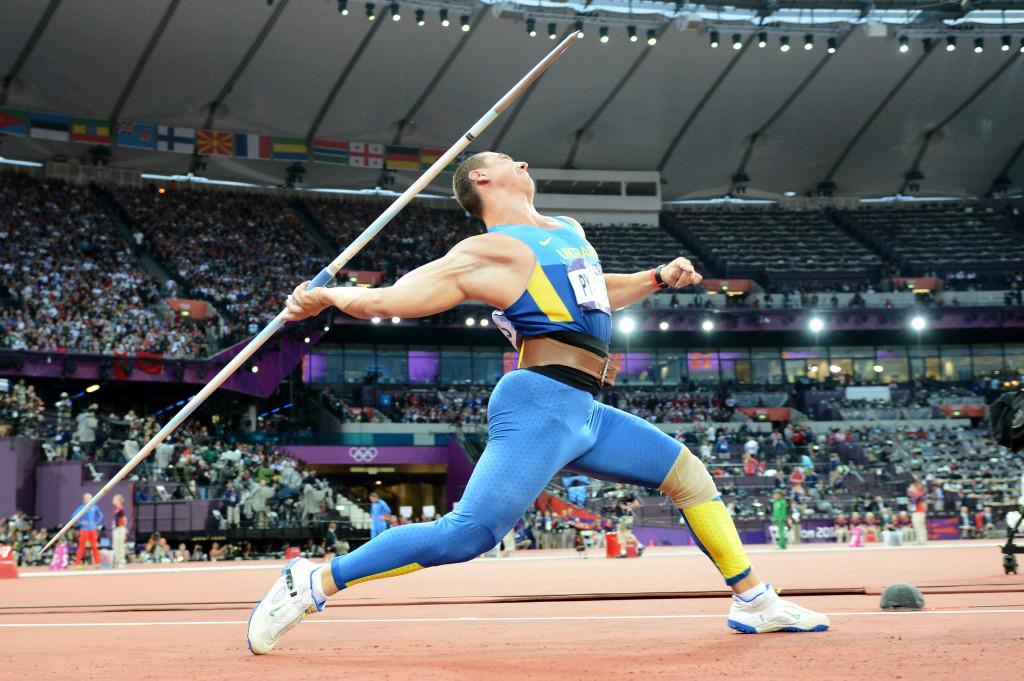 Oleksandr Pyatnytsya has been ordered to return his silver medal ©Getty Images
