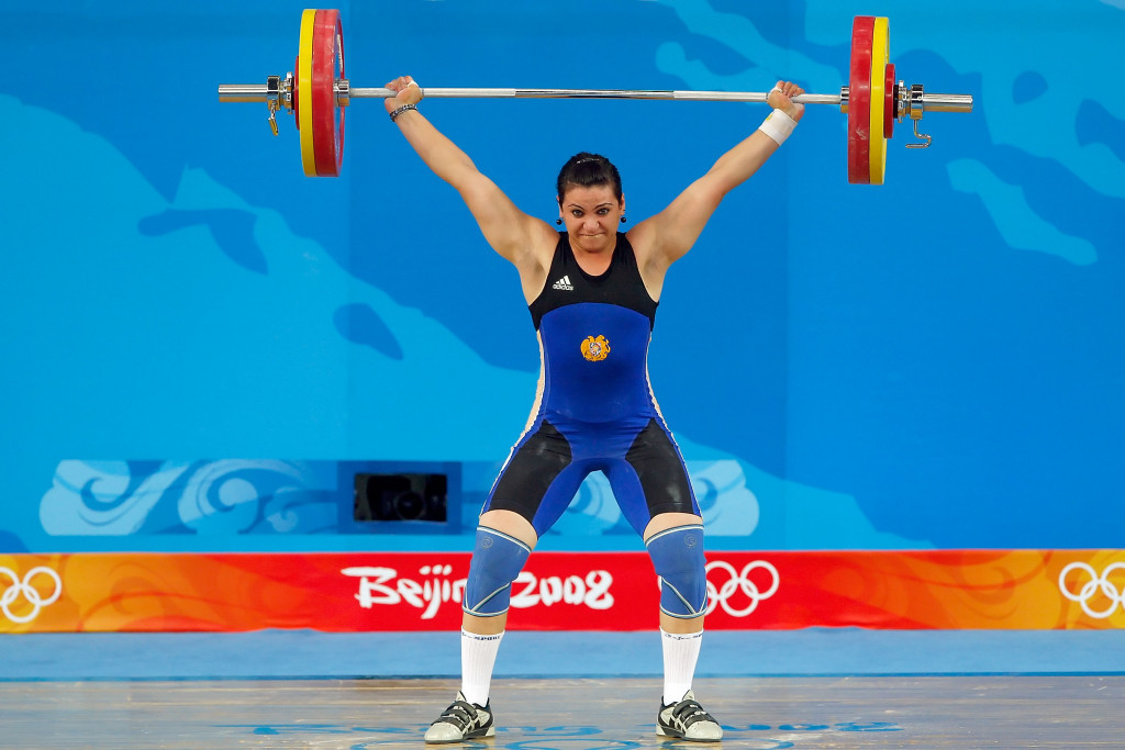 Armenia's Hripsime Khurshudyan has now tested positive in the Beijing 2008 and London 2012 re-tests ©Getty Images