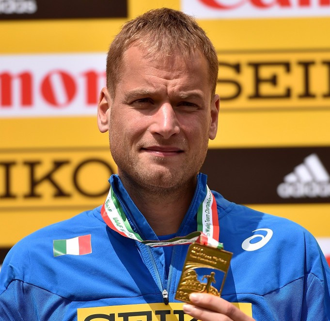 Alex Schwazer, Italy's race walker, has been banned for eight years ©Getty Images