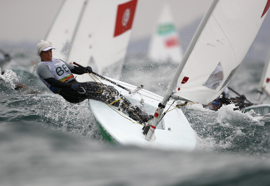 Belgian sailor blames water pollution for causing infection hampering her Rio 2016 performance