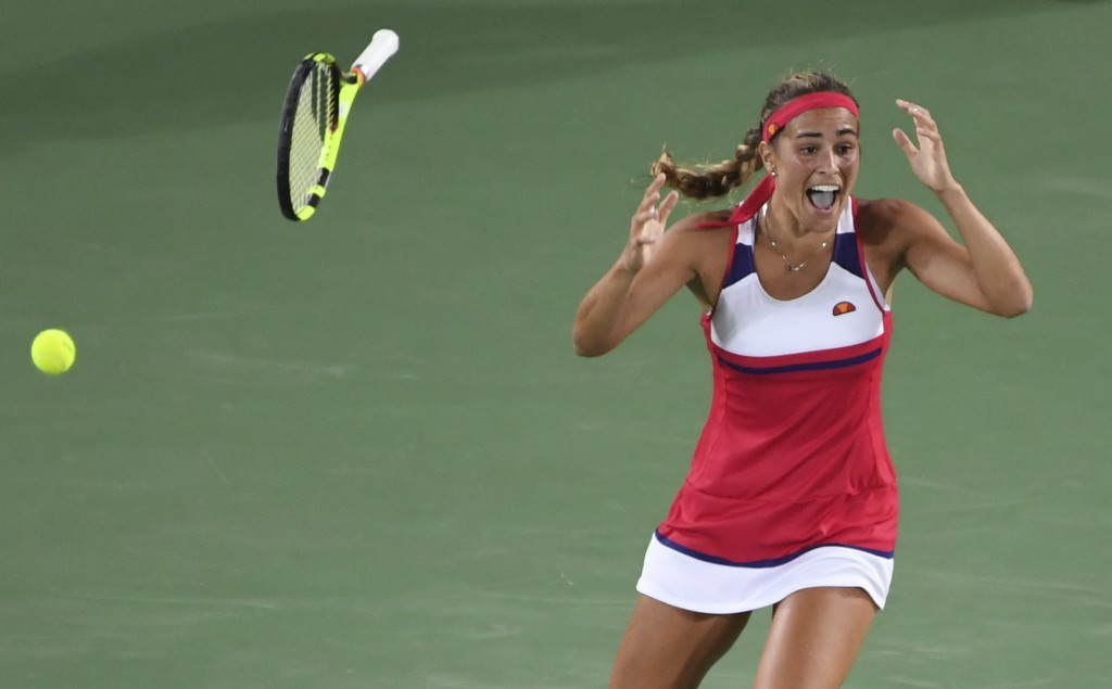 Monica Puig became the first Puerto Rican athlete in history to win an Olympic Games gold medal today ©Getty Images