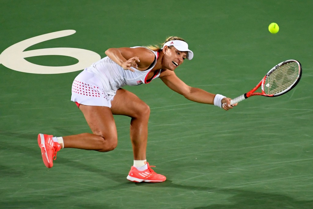 Germany's Angelique Kerber had to settle for the silver medal despite being the favourite ©Getty Images