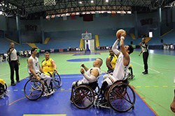 In a tight competition it was Algeria who came out on top winning both the title of the third International Tournament of Wheelchair Basketball and the second Open Arab Championships ©IWBF