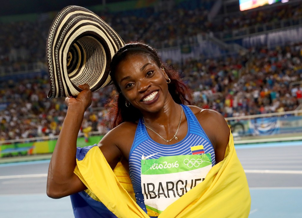 Caterine Ibargüen will be part of the panel to decide who receives the scholarships ©Getty Images