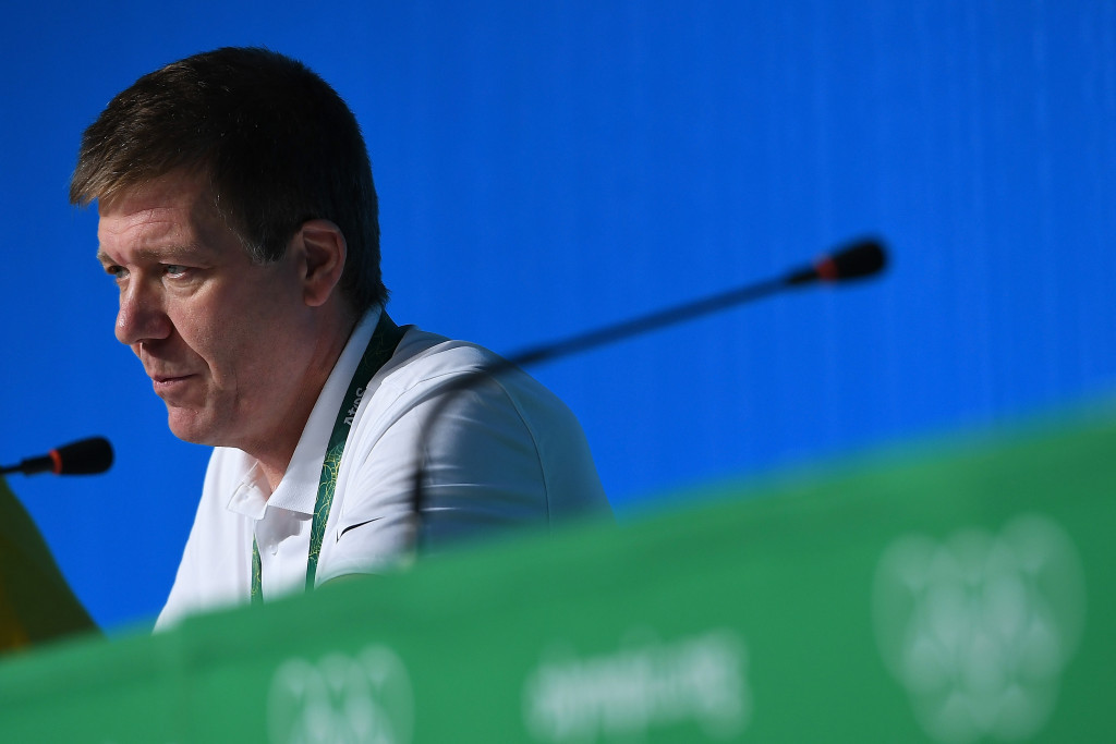 """IOC medical director Richard Budgett has said they feel """"betrayed"""" by what happened in Sochi ©Getty Images"""